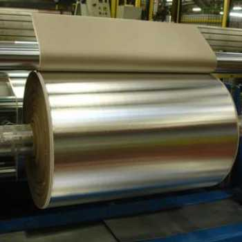 Aluminium laminated with insulation material