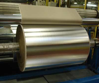 Alfipa Aluminium laminiert mit Dämmstoff.