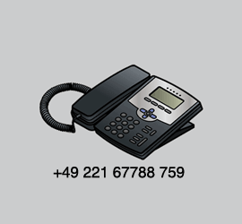 We are just a phone call away!